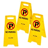 Alpine Industries Two-Sided Fold-Out No Parking