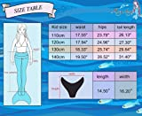 Mayskey Mermaid Tail for Swimming with Monofin