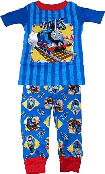 Thomas & Friends Azul Kids Pjs Pijama Ropa de Dormir Azul Azul