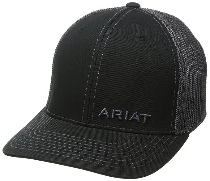 Ariat Hombres Gorra de béisbol - Negro -  Amazon.es  Ropa y accesorios 51edbd4a8b2