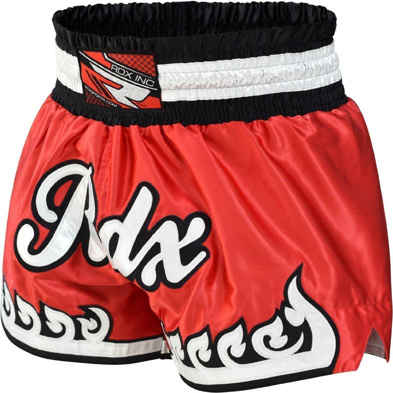 RDX Muay Thai Pantalones Boxeo Corto Entrenamiento MMA Shorts Running Fitness.