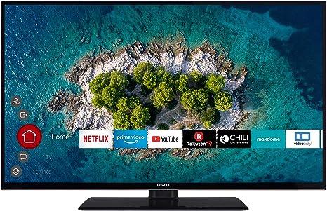 Hitachi U43K6000 109cm 4K UHD TV inteligente PVR 43-Pulgadas negro: Amazon.es: Electrónica