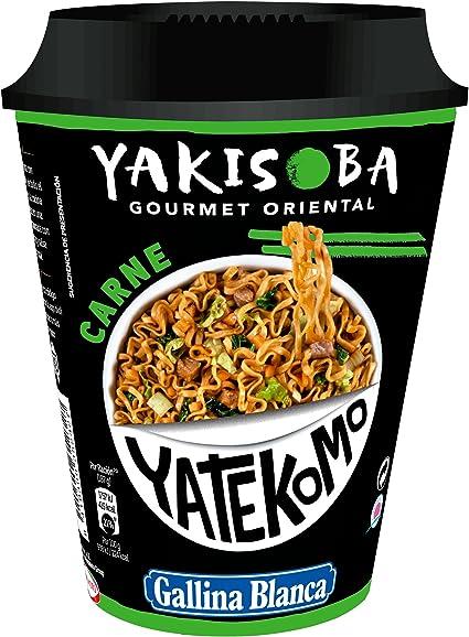 Gallina Blanca - Yakisoba Carne - Preparado de fideos: Amazon.es: Alimentación y bebidas