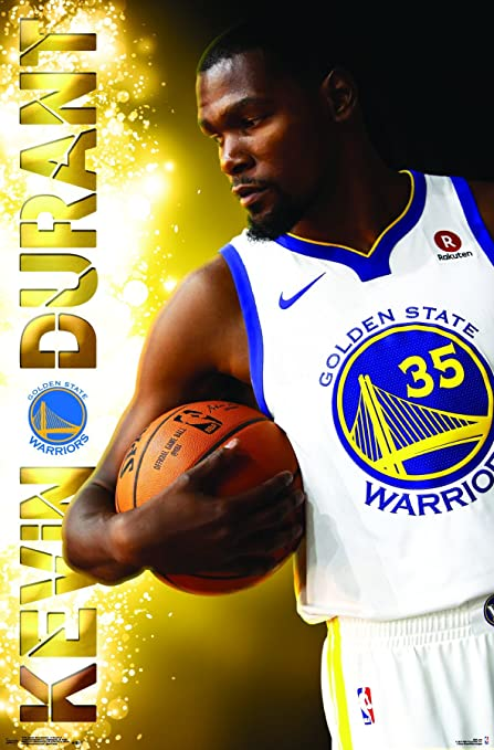 Trends International Golden State Warriors - Kevin Durant Wall Poster 22.375 ...