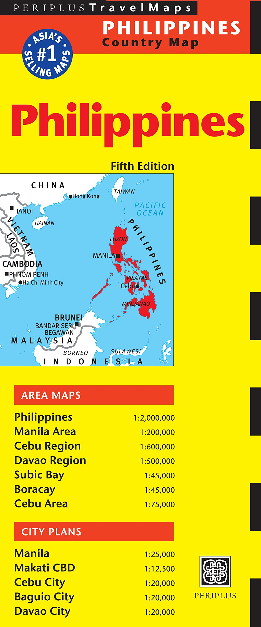 Download Philippines Travel Map Fifth Edition PDF