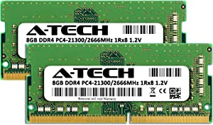 A-Tech 16GB Kit (2x8GB) DDR4 2666MHz RAM for Apple 2019 & 2020 iMac 27 inch (iMac19,1 iMac20,1 iMac20,2), 2018 Mac Mini | PC4-21300 SO-DIMM 260-Pin Memory Upgrade