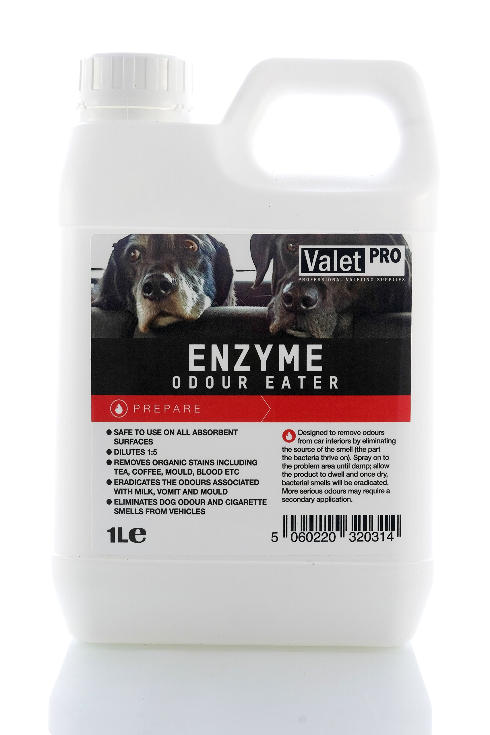 Valet Pro Enzyme Car Fabric Odour Eater **Makes upto 5 Litres!! KILLS BAD SMELLS