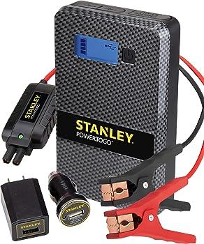 Stanley Simple Start Li-Ion Jump Starter & 8000mAh Portable Power Bank