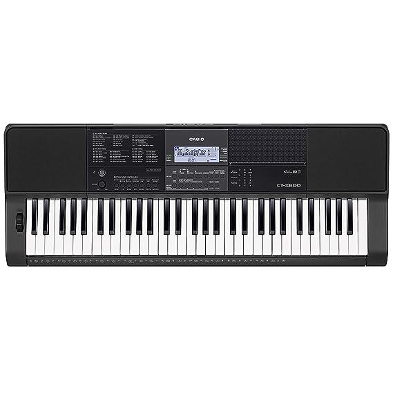 Casio Ct-X800 - Teclado de acompañamiento con altavoces: Amazon.es: Instrumentos musicales