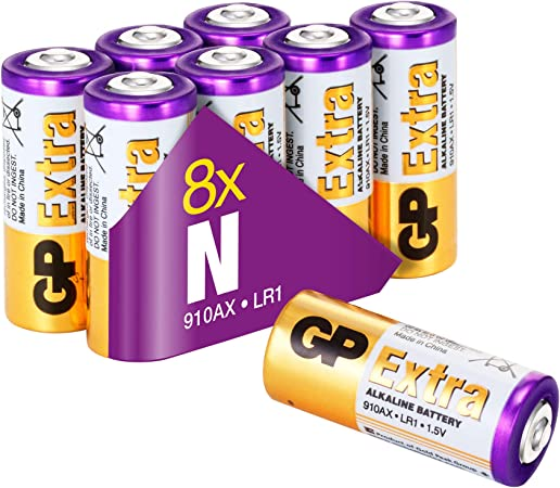 Gp Extra Alkaline Lr1 Batterien Spannung 1 5 Volt Elektronik