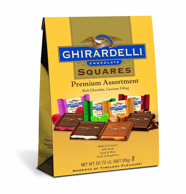 Amazon.com : Ghirardelli Chocolate Squares, Premium Assortment ...