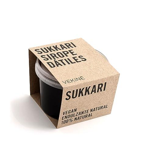 Sirope de dátiles natural SUKKARI VEKINE hecho solamente de ...