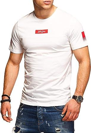 JACK & JONES Camiseta para Hombre T-Shirt Shirt Top Casual ...