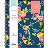 """Day Designer for Blue Sky 2020-2021 Academic Year Weekly & Monthly Planner, Flexible Cover, Twin-Wire Binding, 8.5"""" x 11"""", Peyton Navy"""