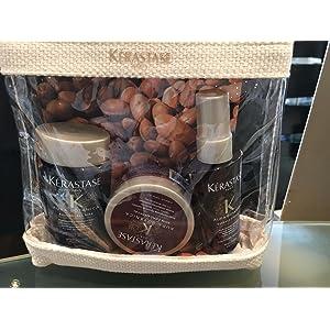Kerastase Aura Botanica Travel Set (Bain Micellaire 80 ml, Sion fondamental 75 ml & Esencia D 'eclat 50 ml)