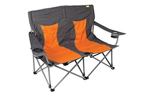 Peachy Kampa Lofa Two Seater Compact Folding Camping Chair Burnt Orange Pabps2019 Chair Design Images Pabps2019Com