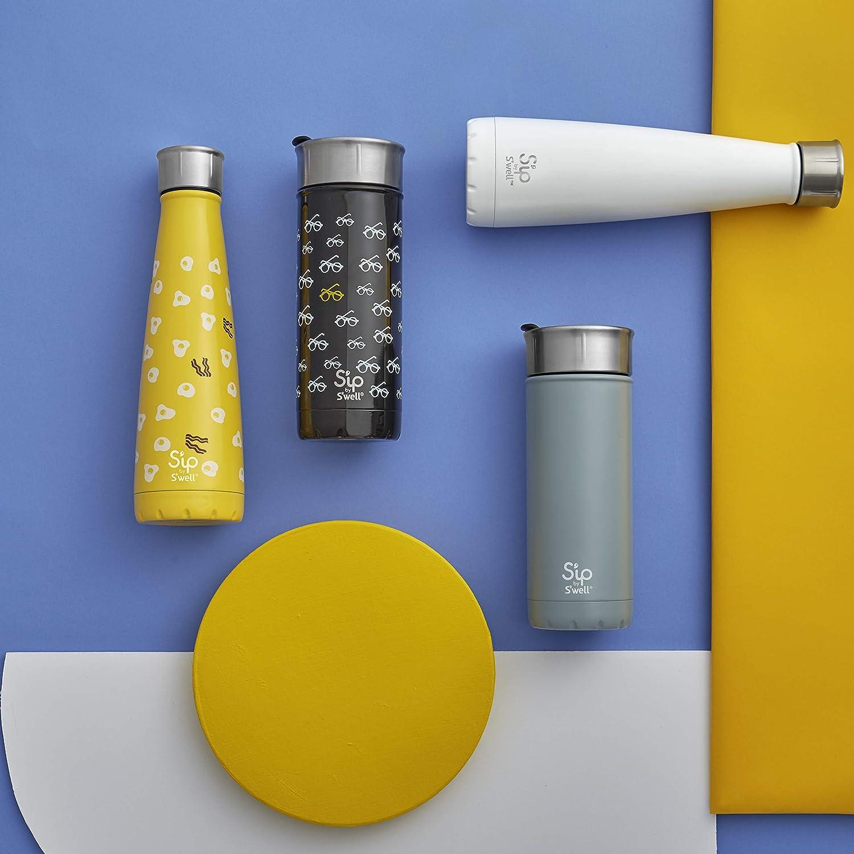 Amazon.com: Botella de agua de acero inoxidable de doble ...