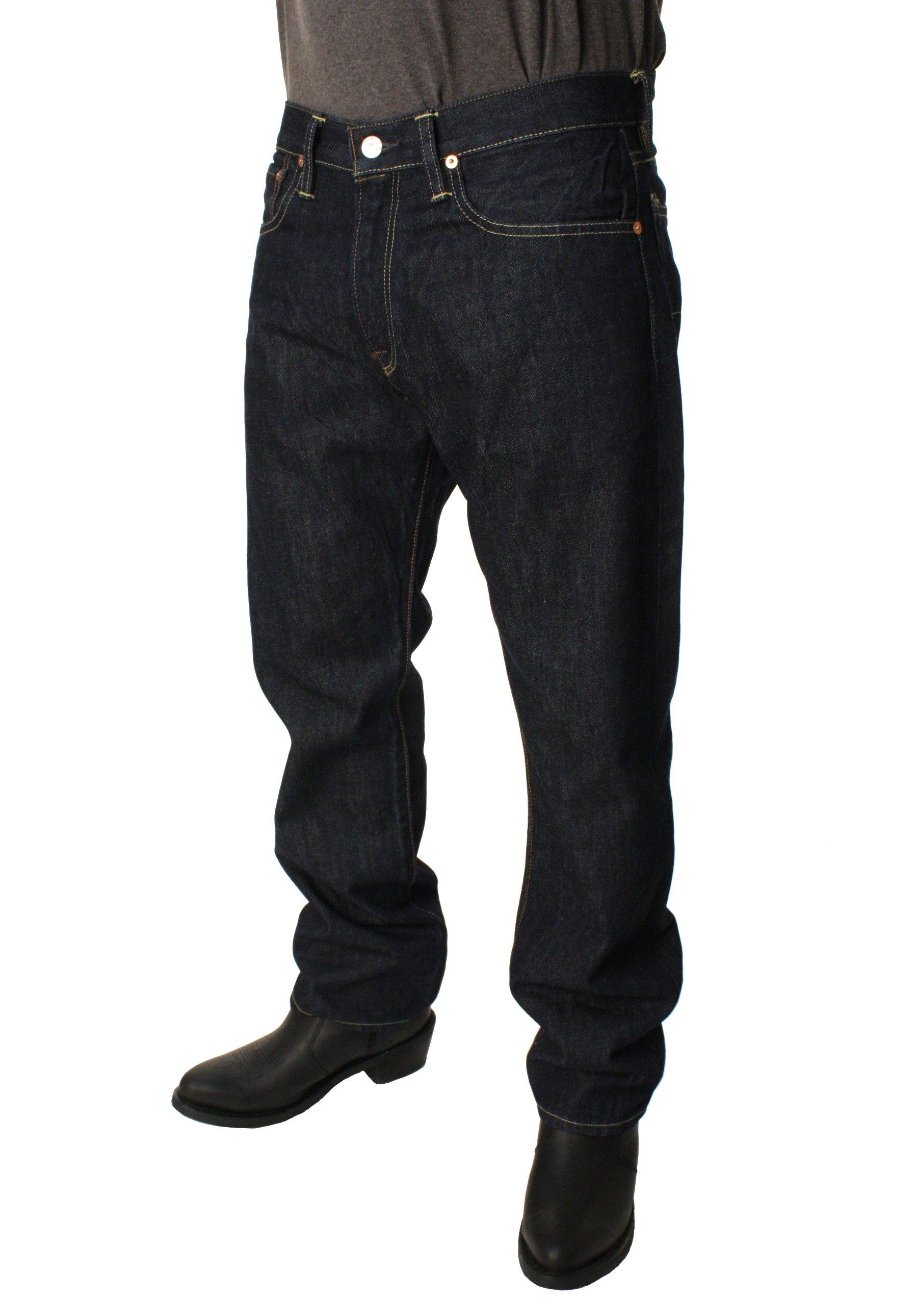 Polo Ralph Lauren Mens Classic 867 Fine Denim Jeans (32W x 30W, Riverside)