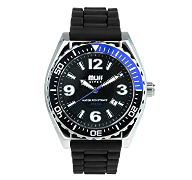 quartz ara diving aradivingwatch watches blackdialredinsert watch diver men items detail swiss meter eta htm s