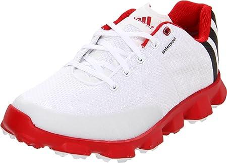Amazon.com: Adidas 2013 CrossFlex Golf Shoes - Mens White/Red ...