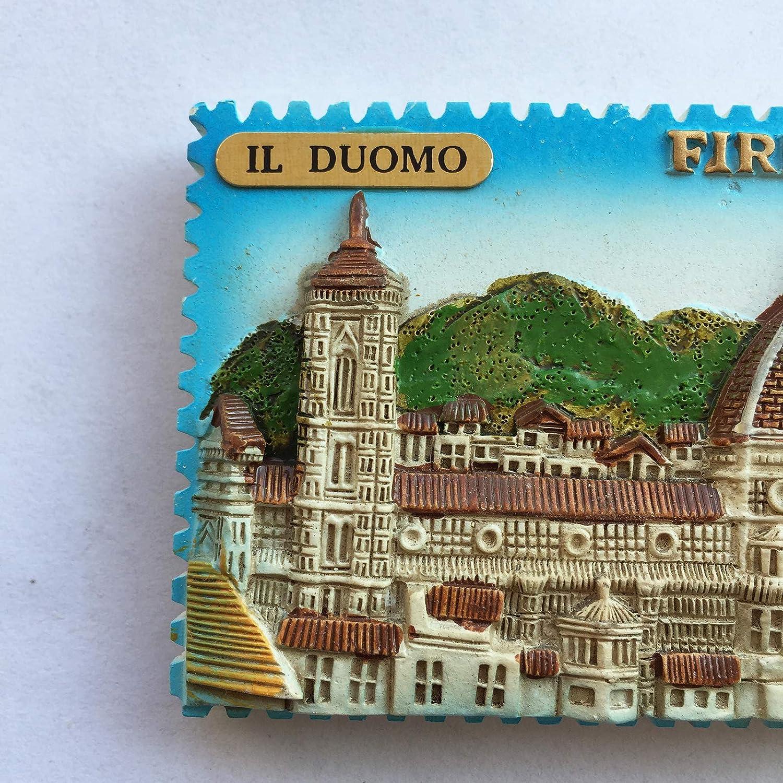 souvenir da collezione Home and Hitcken Calamita da frigorifero 3D Italia decorazione magnetica per frigorifero Blue Italy