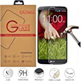 LG G2 Screen Protector, GG MALL Premium Real Tempered Glass Protector for LG G2 -Ultra-thin [0.26mm] Ballistics Glass