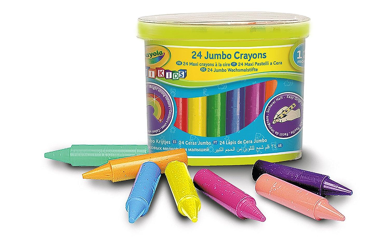 Carrelage Salle De Bain Jumbo ~ crayola mini kids loisir cr atif 24 maxi crayons la cire bo te