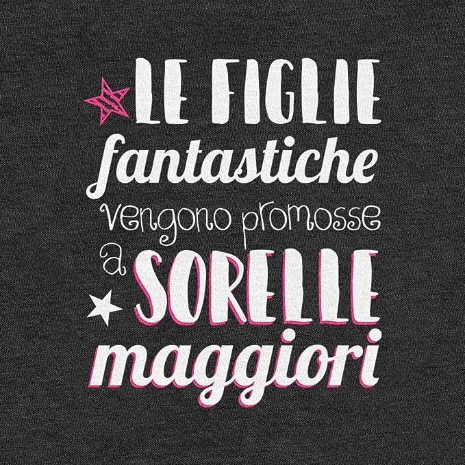 Figlie fantastiche promosse a Sorelle maggiori T-Shirt Maglietta Bambina