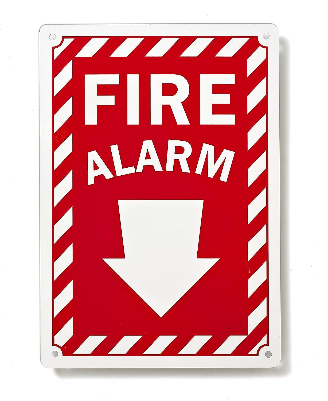 Amazon.com: Alarma de Incendios con flecha hacia abajo ...