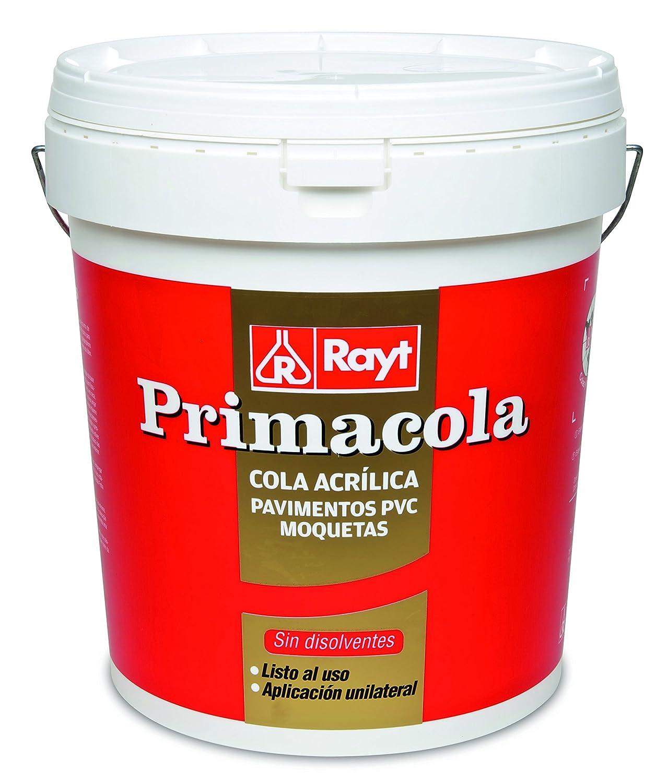 RAYT-PRIMACOLA C-15-555-42-Adhesivo acrí lico unilateral para revestimientos ligeros-aplicació n a espá tula -25 kg Laboratorios Rayt