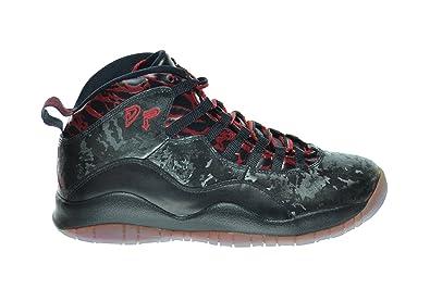 174450443555 Jordan Air 10 Retro Doernbecher Men s Basketball Shoes Black Gym Red  636214-066 (