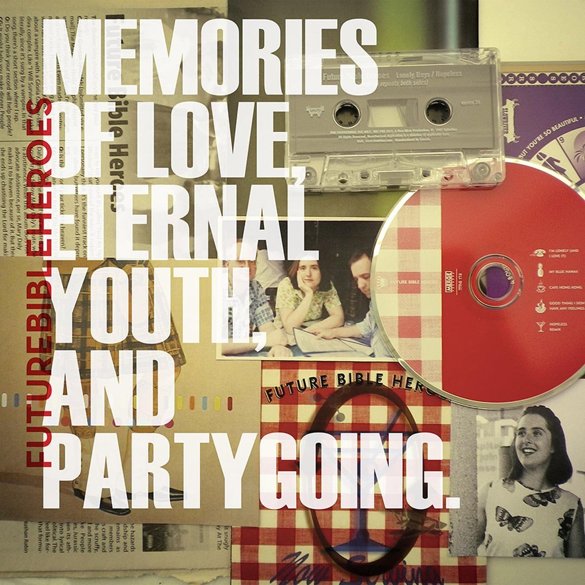 Vinilo : Future Bible Heroes - Memories Of Love, Eternal Youth, And Partygoing (Digital Download Card, 3PC)