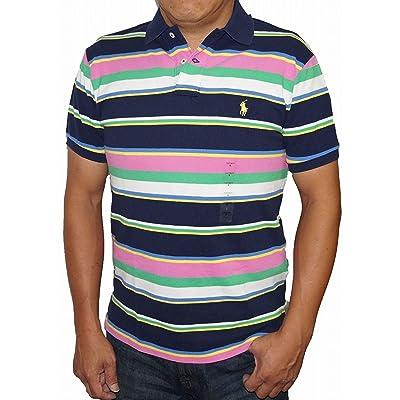 ラルフローレン 半袖ポロシャツ マルチボーダー Polo Ralph Lauren