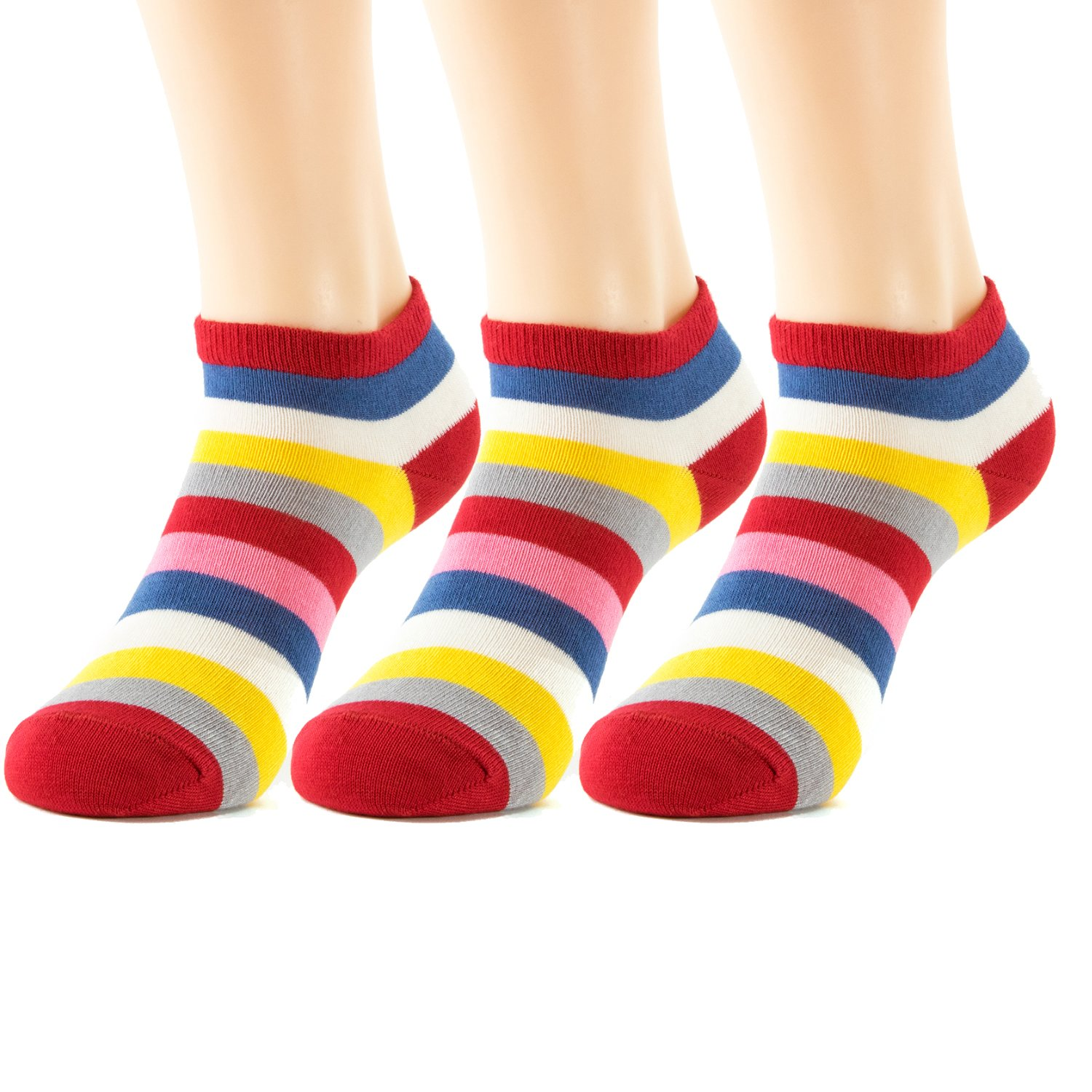 Natural Underwear SOCKSHOSIERY ユニセックスアダルト B07842JW8Y L|Rainbow Colors Rainbow Colors L