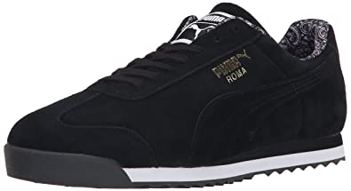 4d453e99f Amazon.com | PUMA Roma Men's Suede Paisley Sneaker | Fashion Sneakers