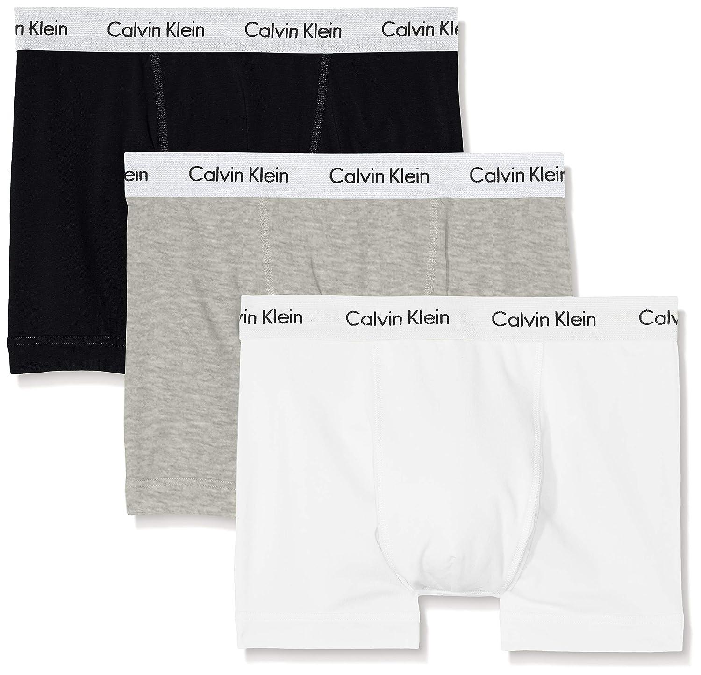TALLA L. Calvin Klein Trunk_0000U2662G, Bóxer para Hombre, Pack de 3
