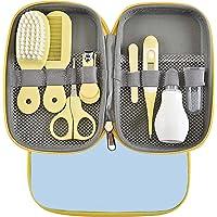 Kit Bebe Recien Nacido Higiene, HAIYUU 8 piezas Kit de Aseo para Bebés con Estuche de Transporte Set Cuidado Bebe Regalo…