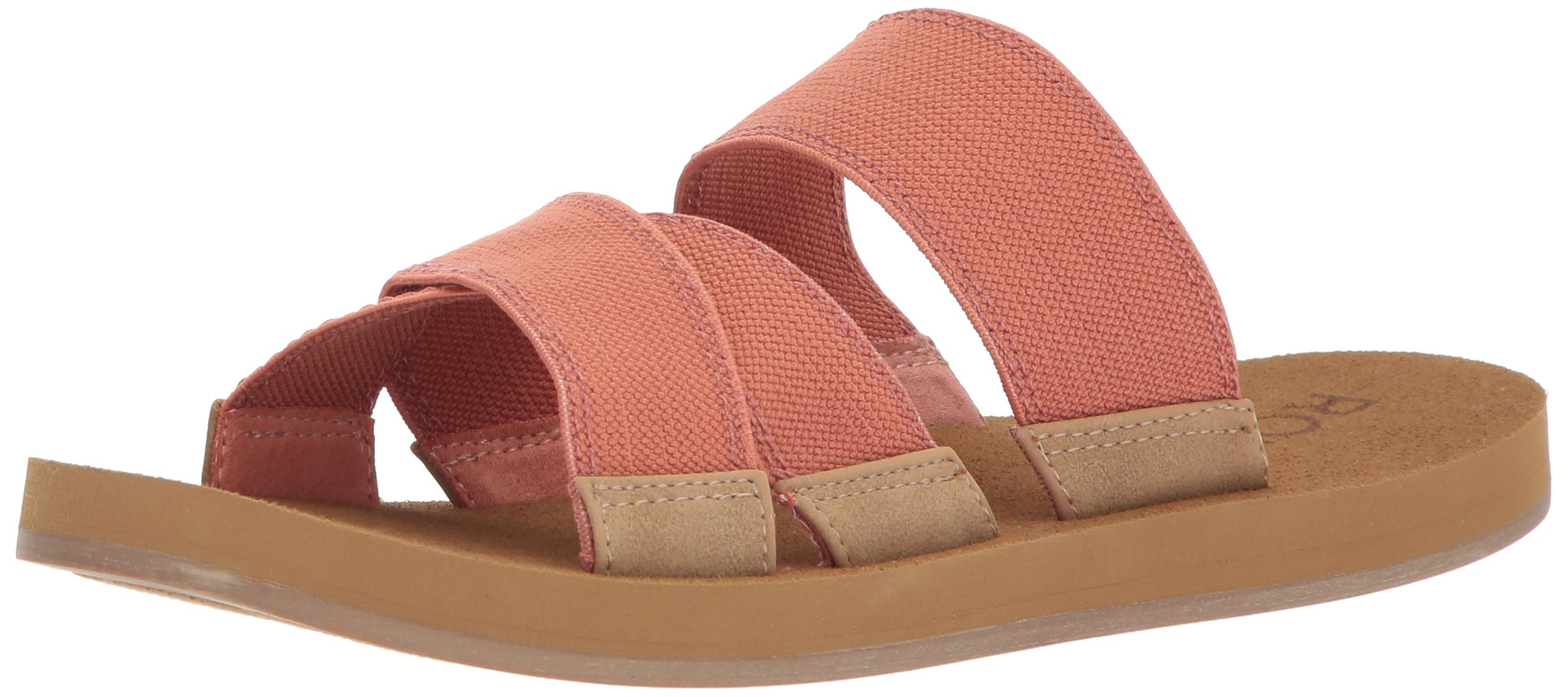 Roxy Women's Shoreside Sport Sandal, Rose, 7 M US