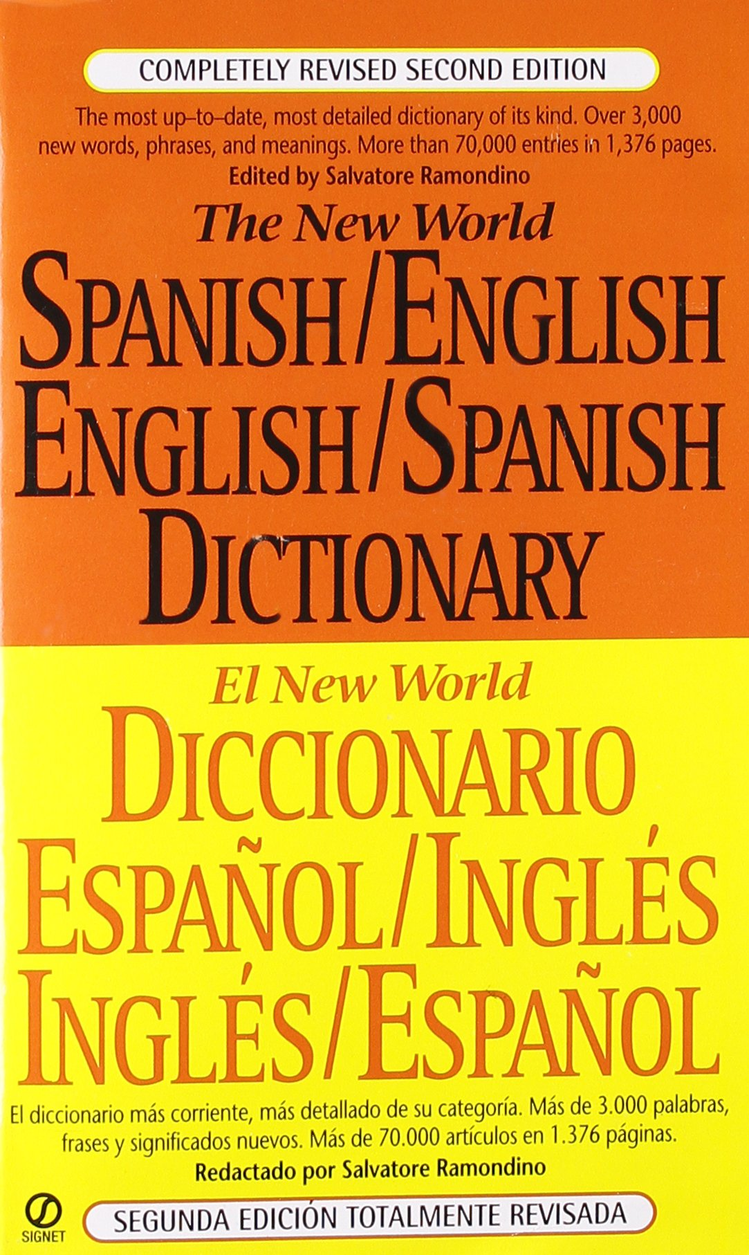 The New World Spanish-English, English-Spanish Dictionary ...
