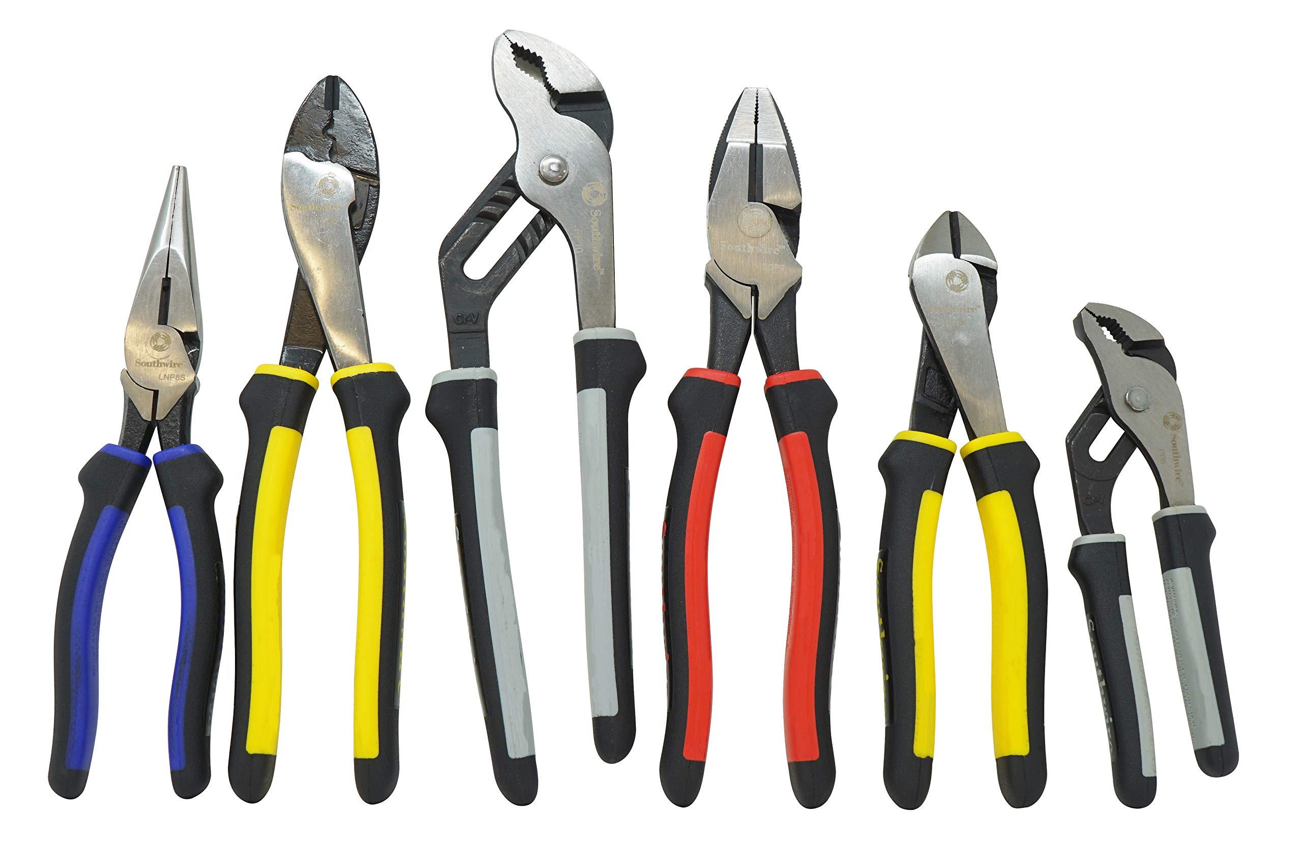 Southwire Tools & Equipment PLIERKIT 6-Piece Pliers Set