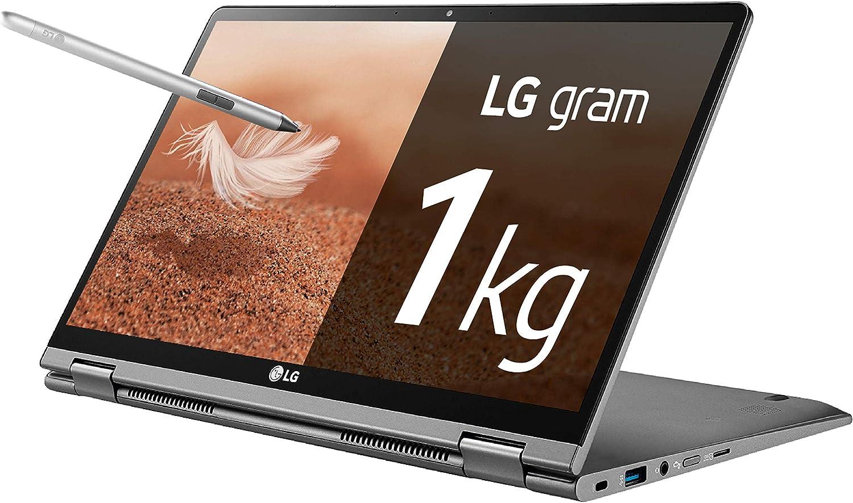 LG gram 14T990-G - Ordenador portátil convertible - 35.5 cm (14
