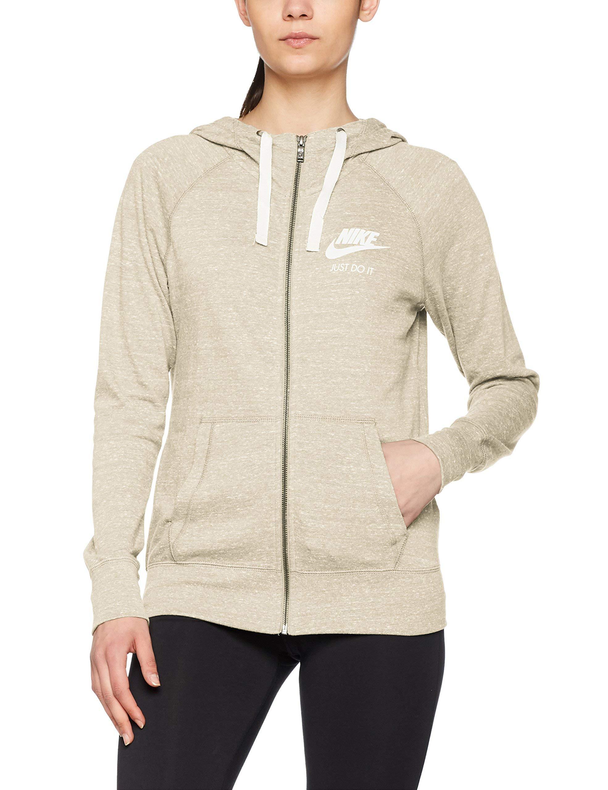 Nike W NSW Gym Vintage FZ, Women's Hoodie, AnthraciteSail, Small