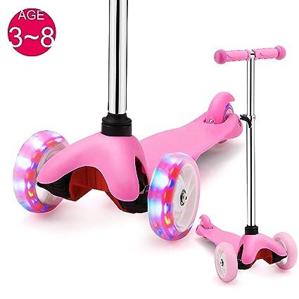 Amazon.com: Samtoys - Patinete para niños, 3 ruedas ...