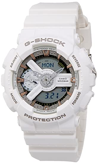 f2a69d0e066 Buy G-Shock Analog-Digital White Dial Men s Watch-GMA-S110CM-7A2DR (G648)  Online at Low Prices in India - Amazon.in