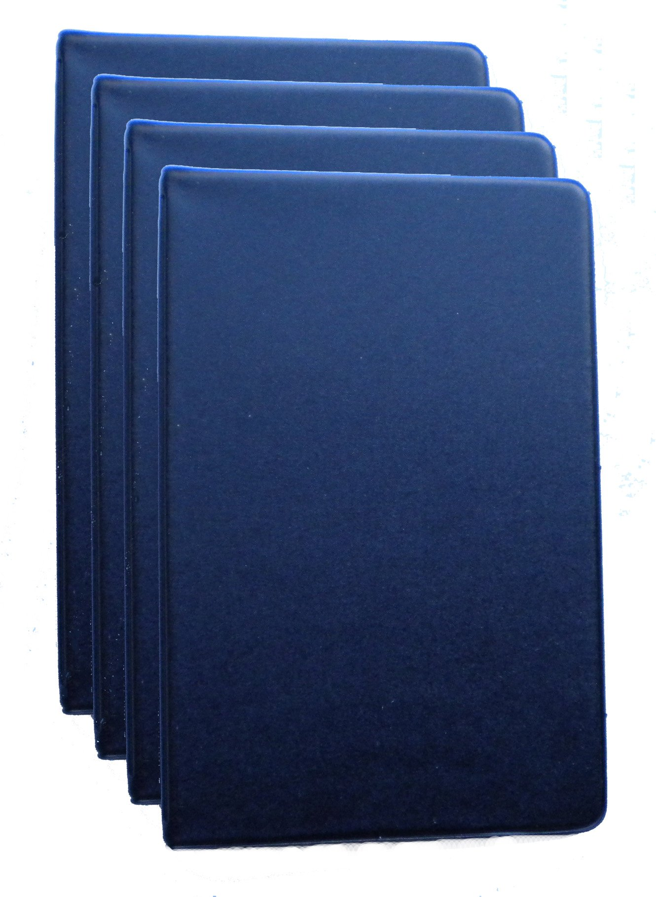 Mead 46034-BK Mini 6-Ring Black Memo Books with 3.75 x 6.75-inch Lined Paper, 4-PACK