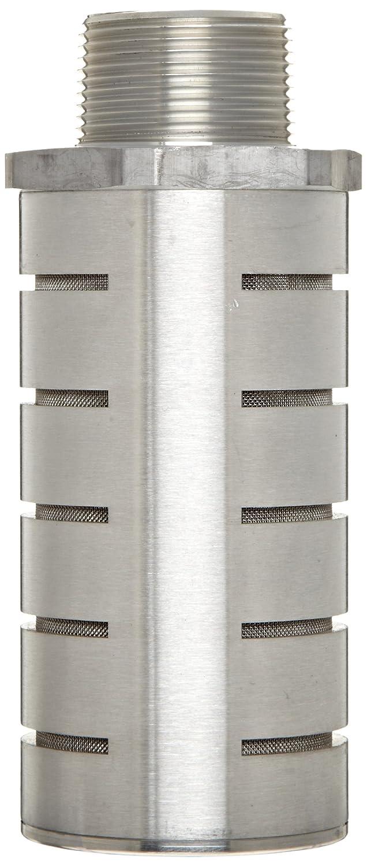 1486 scfm Flow 1-1//4 NPTF 250 psi 1-1//4 NPTF 2.88 Diameter x 5.69 Length Parker ES125MC Aluminum Exhaust Silencer 2.88 Diameter x 5.69 Length