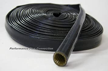 Amazon.com: Black Heat Protector Silicone Plug Wire Sleeve Cover ...