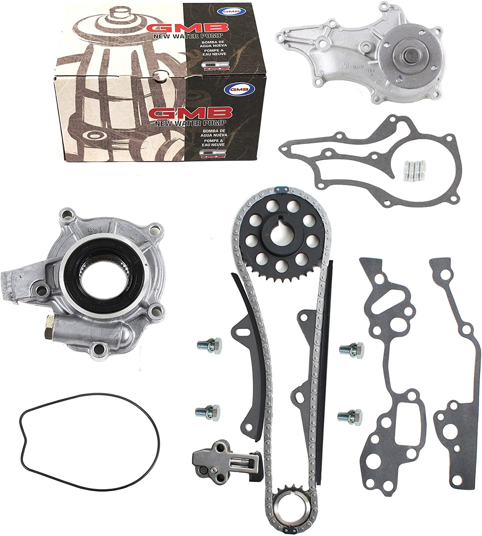 85-95 2.4L Toyota 22R Timing Chain Water Oil Pump Kit