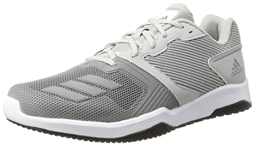 official photos 7e642 f8083 adidas Mens Gym Warrior 2 M Running Shoes, Two ThreeGrey Four, 8.5
