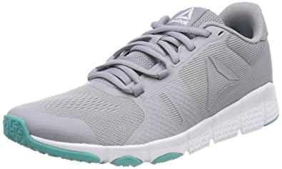 Reebok Damen Trainfusion Nine 3.0 Fitnessschuhe, Grau (Cool Shadow/White/Silver/Solid Teal 000), 39 EU